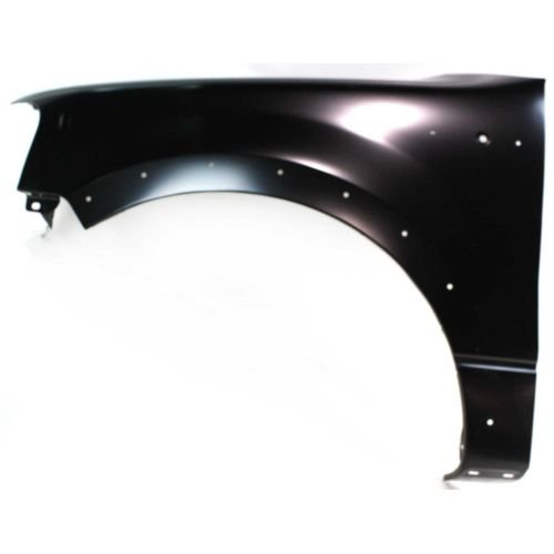 (MAPM Front, Driver Side Car & Truck Fenders Steel Primed With wheel opening molding holes FO1240232 FOR 2004-2008 Ford F-150)