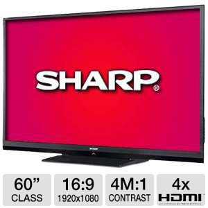 "Sharp LC60C6400U 60"" 1080p 120Hz LED Smart HDTV RB"