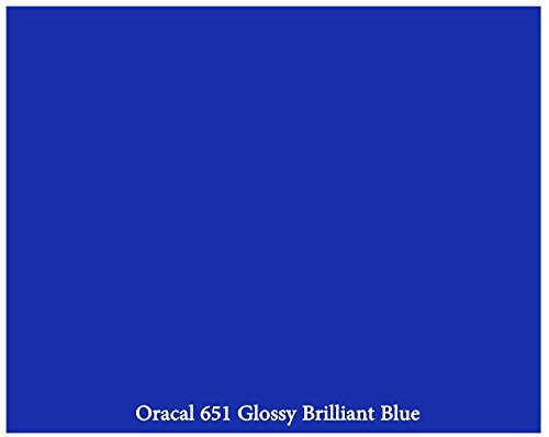 brilliant-blue-glossy-12-x-10-foot-roll-of-oracal-651-adhesive-backed-vinyl-for-craft-cutters-punche