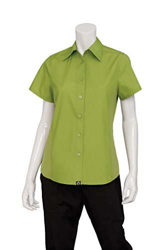 Chef Works Mens Universal Shirt, Lime, Medium