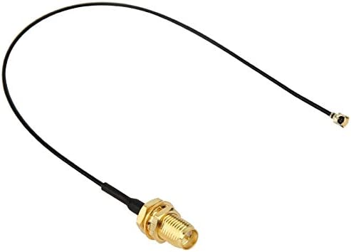 Fire bird Antena, Conector U.FL/IPX a RP SMA Hembra Pigtail ...