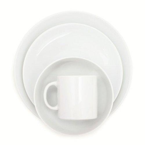 Sur La Table Coupe 16-Piece Dinnerware Set EO16YS00 , 16 Pieces (Coupe Whiteware)