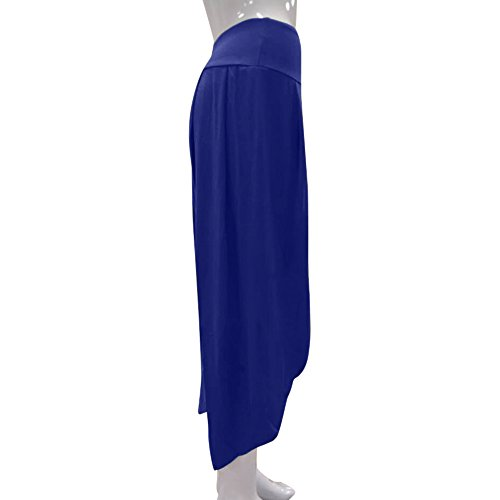 TIMEMEANS New Women Casual PrettyLayered Wide Leg Pants Ladies Outdoor Home Daily Flowy High Waist Pants by TIMEMEANS (Image #3)