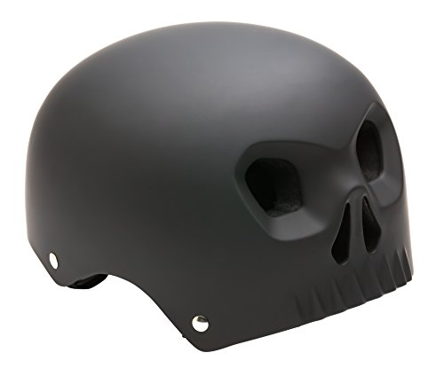 Mongoose MG77927-2 Boys Street Youth Skull Hardshell, (Rear Direct Vent)
