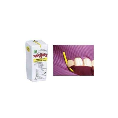 (Coltène CO-H06522 Hygenic Wedjets Dental Dam Cord, Small, Shape, Yellow)