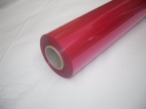 10m x 80cm Roll Tinted Cerise Cellophane Wrap. Florist Quality Bouquet / Gift... by Tinted Cellophane Wrap