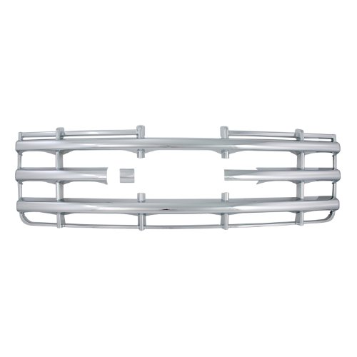- Bully  GI-42 Triple Chrome Plated ABS Snap-in Imposter Grille Overlay, 1 Piece