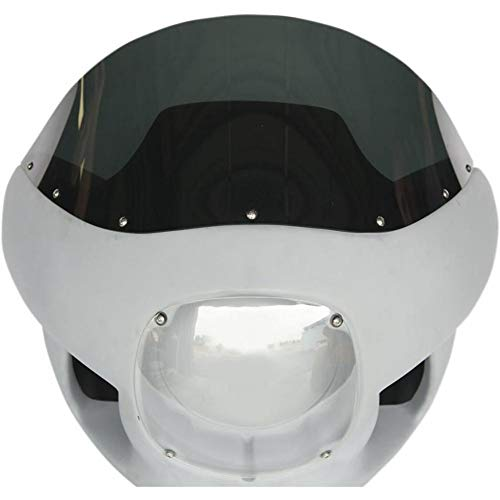 Russ Wernimont Designs 10in. Windscreen for Fairing Kit - Dark Smoke ()