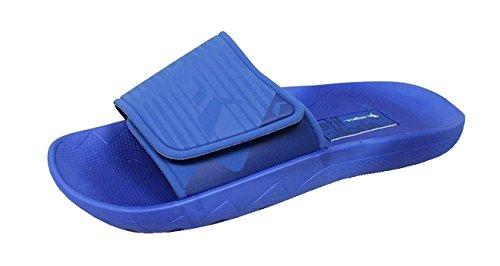 AD Sandalias Blue Slides Hombre Vancouver Rider Chanclas 1qHPcw