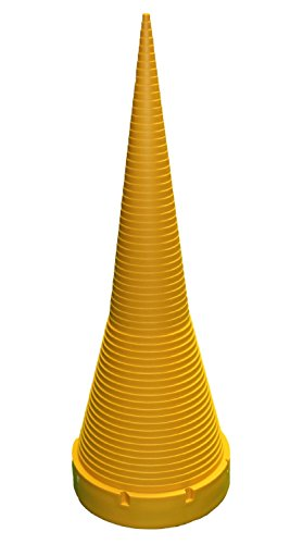 Small Parts O-Ring Sizing Cone, 17 1/2 Inches Tall, Plastic, Yellow by Small Parts