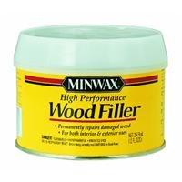 Minwax 21600000 High-Performance Wood Filler, 12-Ounce (Rotted Wood Filler)