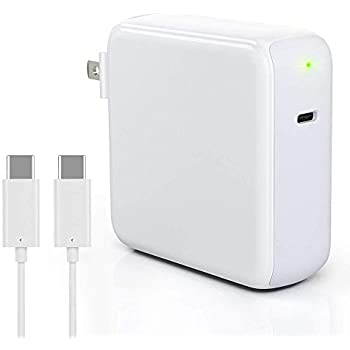 Amazon.com: 87W USB Type C Power Adapter Charger with USB-C ...