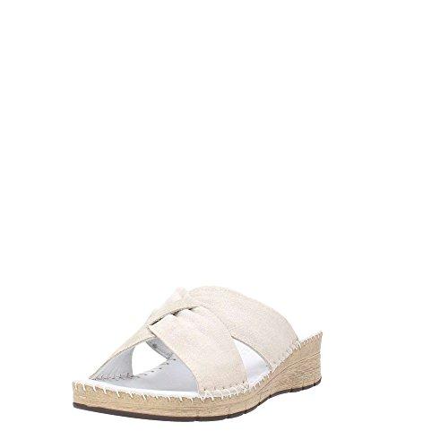 80palo Grunland Femme Ci1328 Bianco Pantoufle 6ddqw8