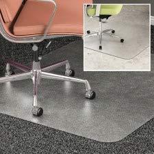 Deflect-o DEFCM23442FDUO Duo Carpet/Hard Floor Chair Mat