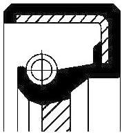 Corteco 12011222B Wellendichtring, Kurbelwelle