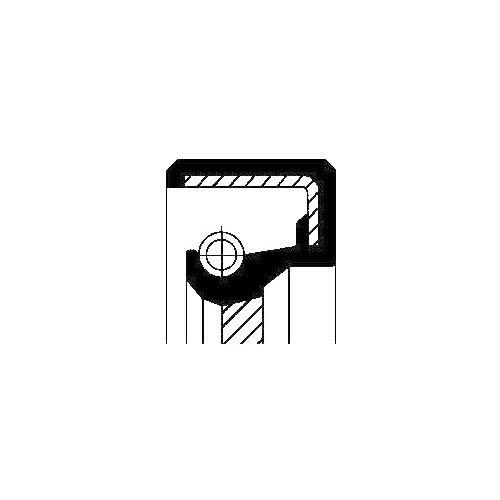 Corteco 12010671B Paraolio Cambio Manuale