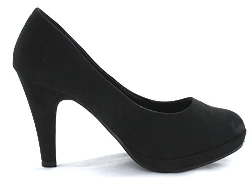 Jane Klain Damen Pumps High Heels 224 585 schwarz