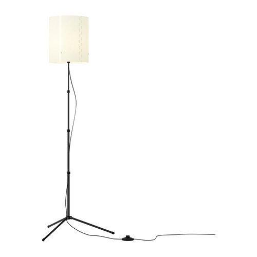 IKEA TROGSTA Floor lamp, black