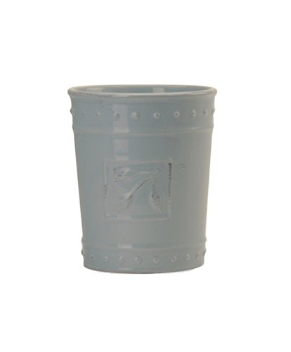 Signature Housewares Sorrento Collection Tool Jar, Light (Antiqued Green Italian Ceramic)
