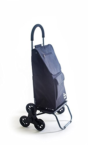 Trolley Dolly Stair Climber, Black Grocery Foldable Cart ...
