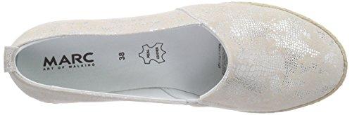 Scarpe Marcate Emily Damen Espadrilles Weiß (offwhite 210)