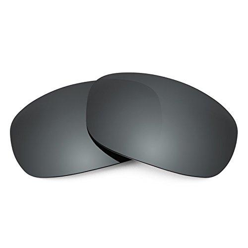 Revant Replacement Lenses for Maui Jim Stingray MJ103 - Compatible with and Fits Maui Jim Stingray MJ103 Sunglasses, Polarized, Black Chrome MirrorShield ()
