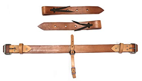 M-Royal Pony Leather Back Cinch Mini Horse Girth