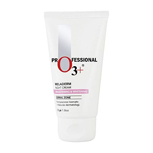 O3+ Dermal Zone Meladerm Intensive Skin Whitening Night Care Cream, -
