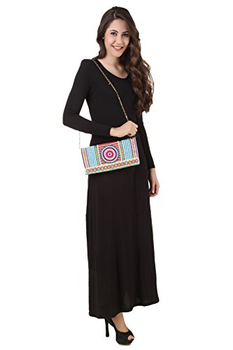 muslimischer Fancy Mehreen MyBatua Frauen Kleidung Kleid Abaya 4Sqwz5