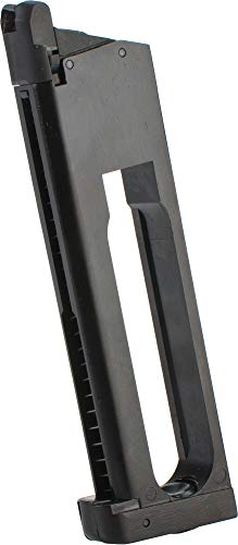 Sti Tactical - Evike KJW/ASG 24rd Co2 Magazine for ASG STI Tac Master 1911 Series Airsoft GBB Pistols - Black