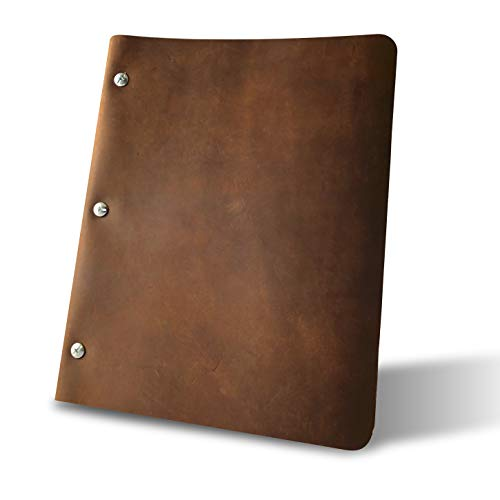 Murdy No. 1 Leather Three Post Binder (Espresso) ()