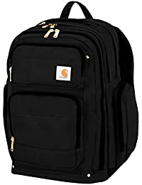 Legacy Deluxe Work Backpack with 17-Inch Laptop Compartment, Black