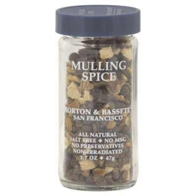 Morton & Bassett Mulling Spice, 1.7-Ounce Jars (Pack of 3)