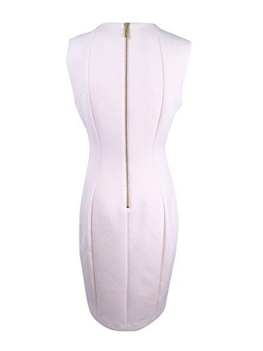 Calvin Klein De Med Robe Fourreau De Plongée Sous-marine Des Femmes Rose