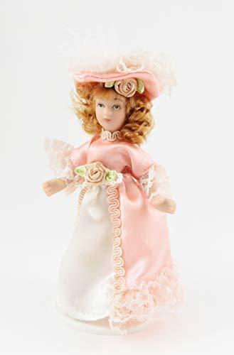 Melody Jane Casa delle Bambole Vittoriano Giovane Ragazza Signora Miniatura Persone Porcellana PK
