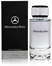 Mercedes Benz For Men 120ml - Eau de Toilette-bracing bergamot, Amalfi lemon and mandarin orange