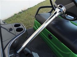 Steering Column Cover, Stainless Steel, Yamaha ()