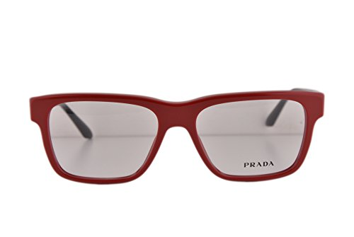 Prada PR16RV Eyeglasses 53-16-140 Red TKS1O1 VPR16R For Women (FRAME - Eye 49mm Prada Cat Sunglasses