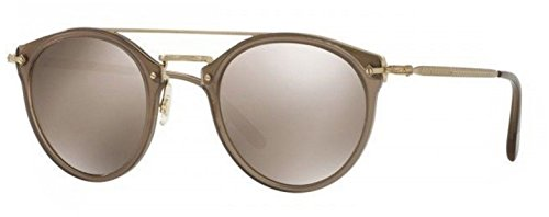 New Oliver Peoples OV 5349 S 14736G REMICK Taupe/ Gold Mirror - Remick Oliver Peoples