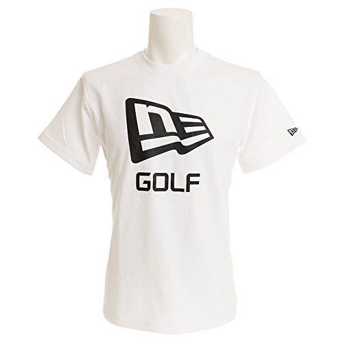 ニューエラ(ニューエラ) パフォーマンス Tシャツ フラッグ GOLF 11556827 (ホワイト/L/Men's)
