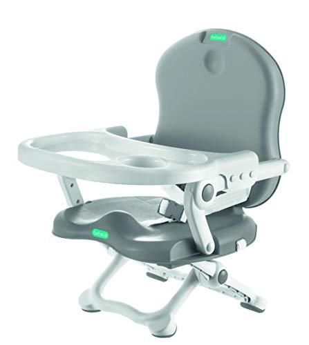 Cadeira De Alimentação, Bebeliê - CAP-01, Mk Sul, Branco/Cinza, pacote de 6