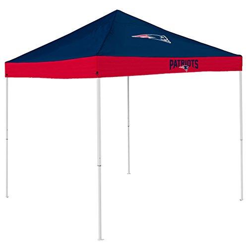 Logo Brands NFL New England Patriots Economy Tent Economy Tent, Navy, One Size
