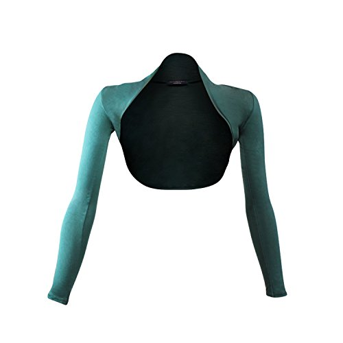 Glamexx24 - Poncho - para mujer Verde