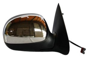 Non Power Heated Mirror - TYC 3030031 Ford Passenger Side Power Non-Heated Replacement Mirror without Signal