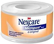 Micropore Bege 25Mmx4, 5M Nexcare, Nexcare, Bege