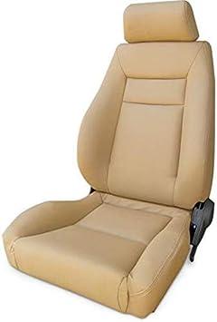 ProCar by Scat 80-1100-54R Beige Vinyl Racing Elite Recliner Right Seat