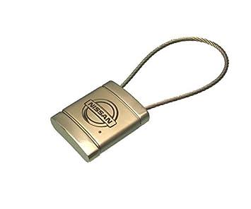 Logotipo de Nissan anillo de metal para cable de cromo ...