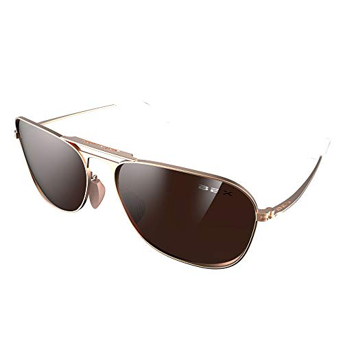 Bex Sunglasses Womens Sunglasses Ranger Rose Metal Frame With Brown Lens Rose/Brown]()
