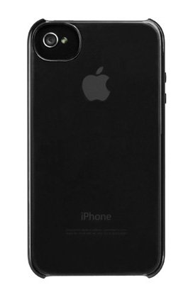 New Incase Pro Snap Clear Case w/Enhanced Black Grip for iPhone 4/4s CL59980