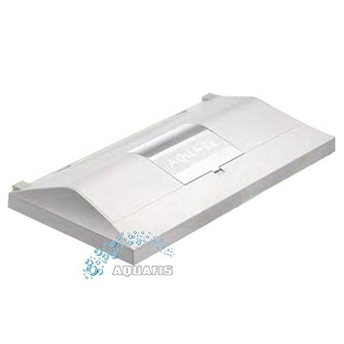 Aquarienabdeckung Aquael Leddy RE 40 Weiß (40 x 25 cm) mit LED Beleuchtung in Weiß